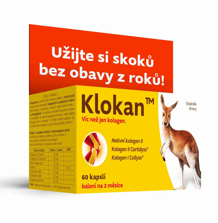 Barnys Klokan TM (60 cps.) - unikátní kolagen