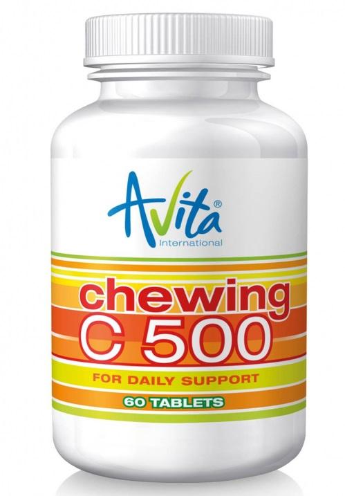 Avita CHEWING C 500 (60 tbl.)
