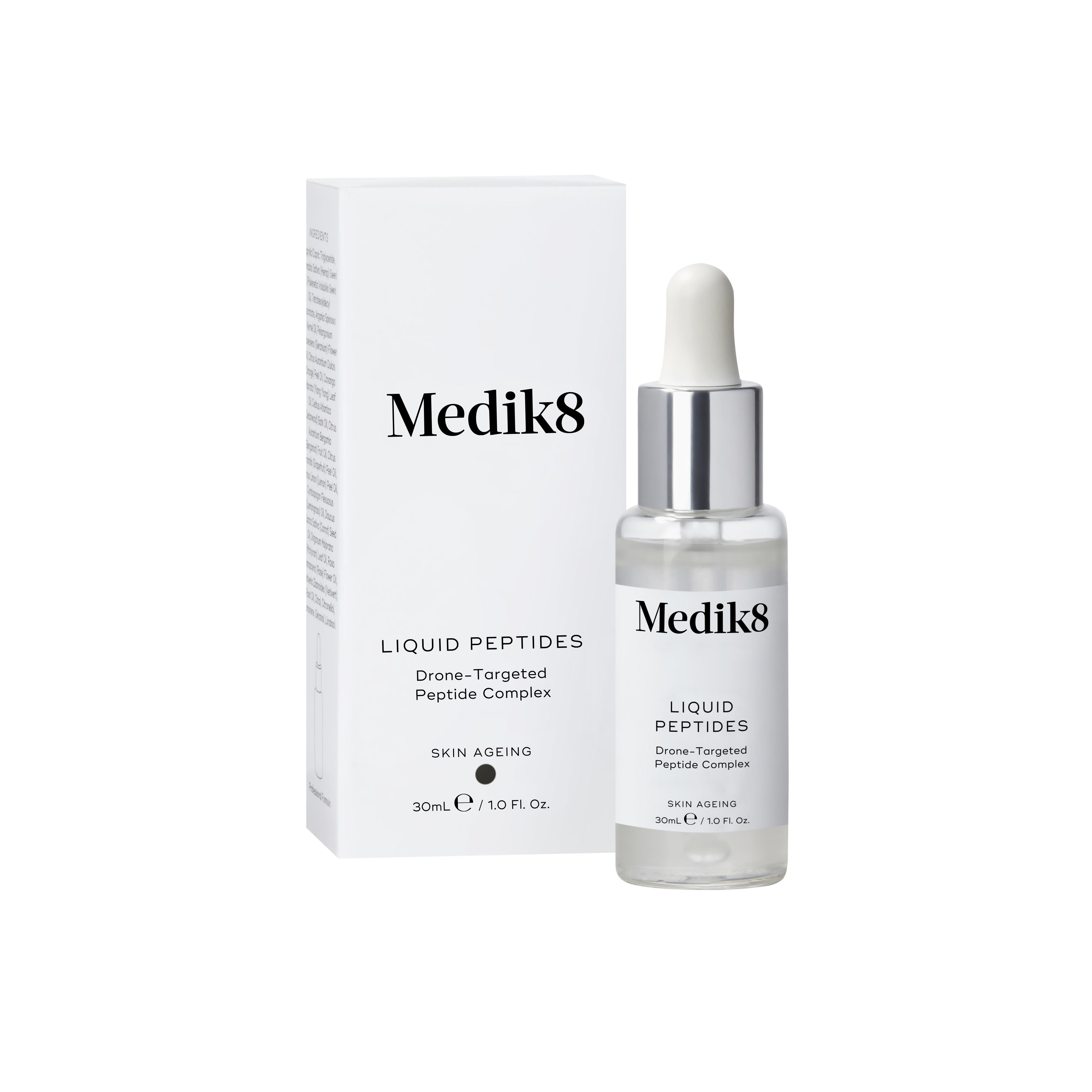 Medik8 Liquid Peptides sérum 30 ml - obsahuje peptidy, kolagen, kyselinu hyaluronovou