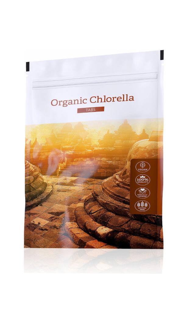 Energy Organic Chlorella Tabs 200 ks