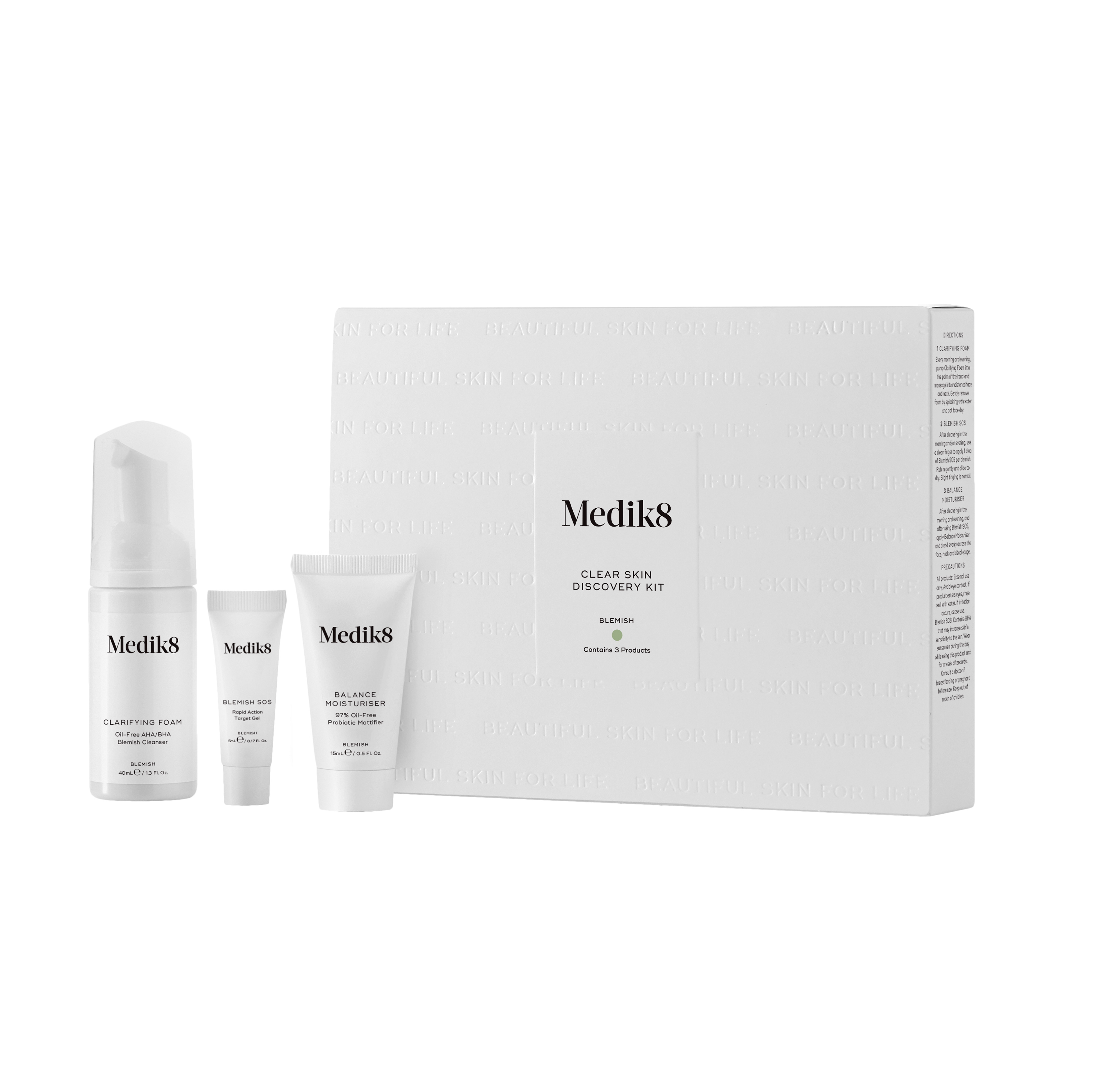 Medik8 Clear Skin Discovery Kit - sada proti akné