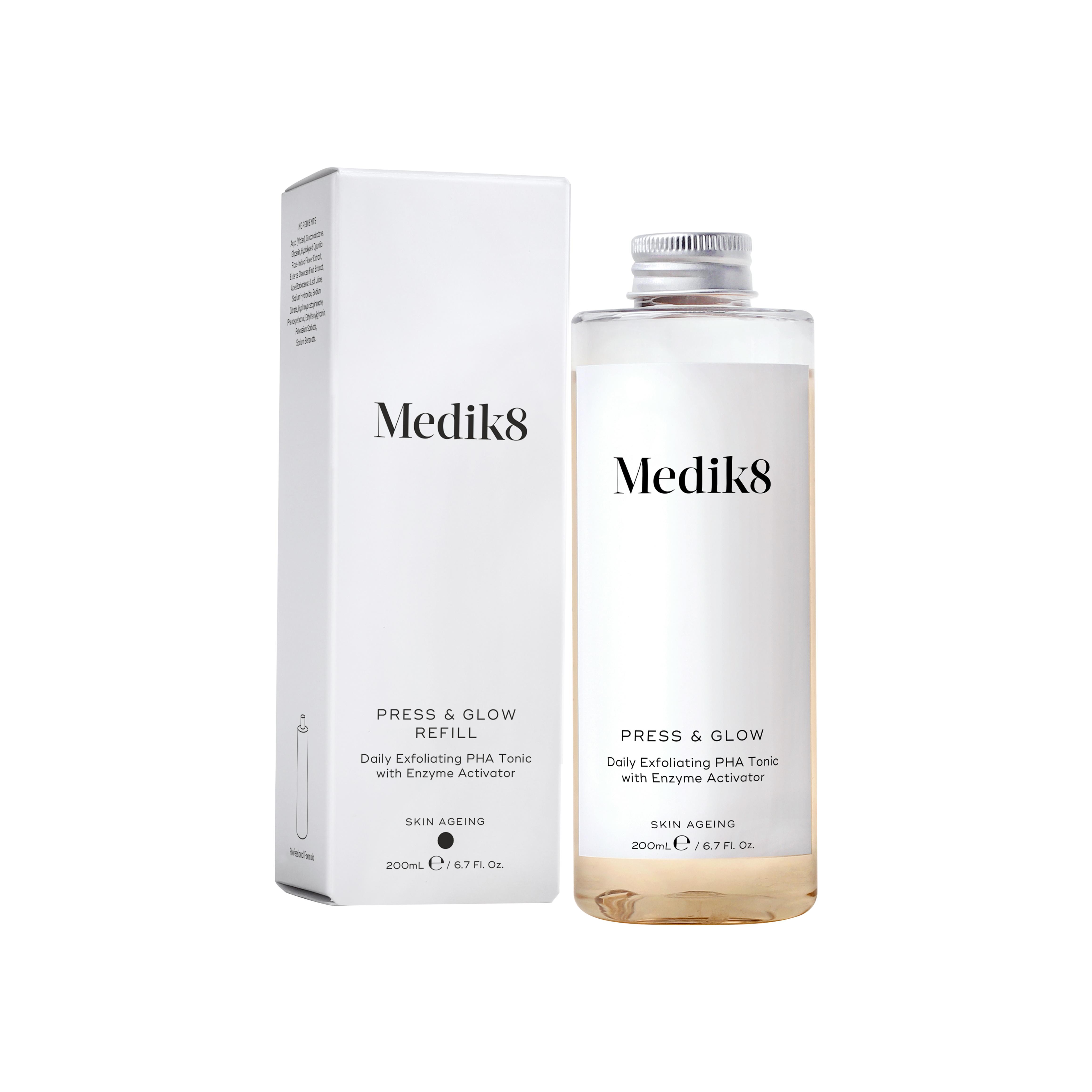Medik8 Press & Glow (náhradní náplň) 200 ml