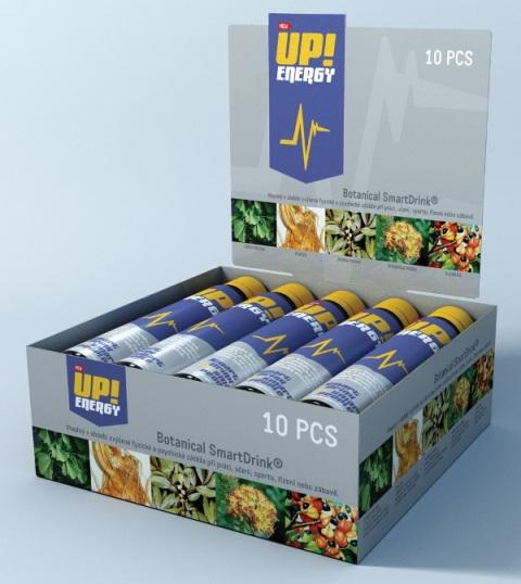 UP!Energy 25 ml x 10 - bylinný stimulant pro okamžitou energii