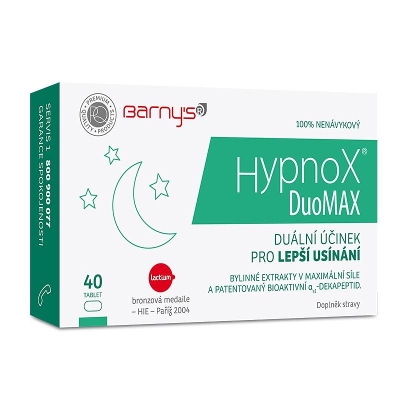 Barnys Hypnox® DuoMAX 20 tablet - pro klidnější spánek bez stresu