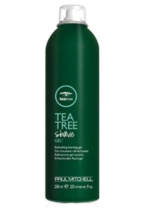 Paul Mitchell Tea Tree Shave gel - osvěžující gel na holení s Tea tree
