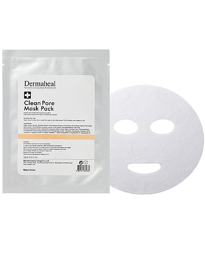 Dermaheal čistící pleťová maska 1ks