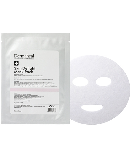 Dermaheal rozjasňující pleťová maska 1 ks