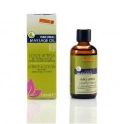 VITALIS Masážní olej BIO pro zpevnění pokožky a proti striím 100 ml
