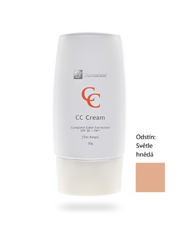 Dermaheal CC krém pro kompletní korekci - Odstín Tan Beige