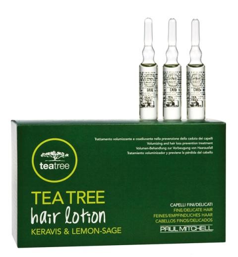 Paul Mitchell Tea Tree Hair Lotion KERAVIS Lemon-sage - kúra proti vypadávání vlasů