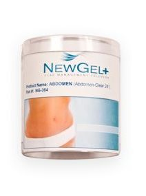 New Gel+ Béžová náplast na břicho 60 cm (1 ks v balení)
