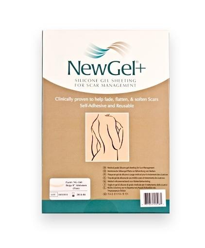 New Gel+ Průhledná náplast na břicho 20 cm (2 ks v balení)