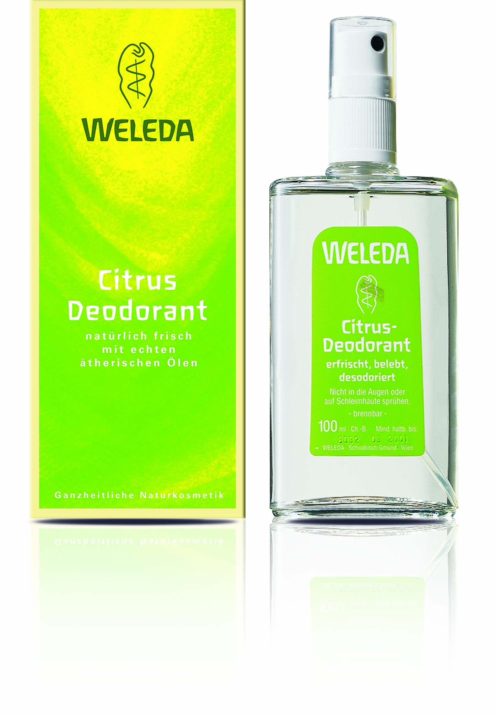 Weleda Citrusový deodorant 100 ml