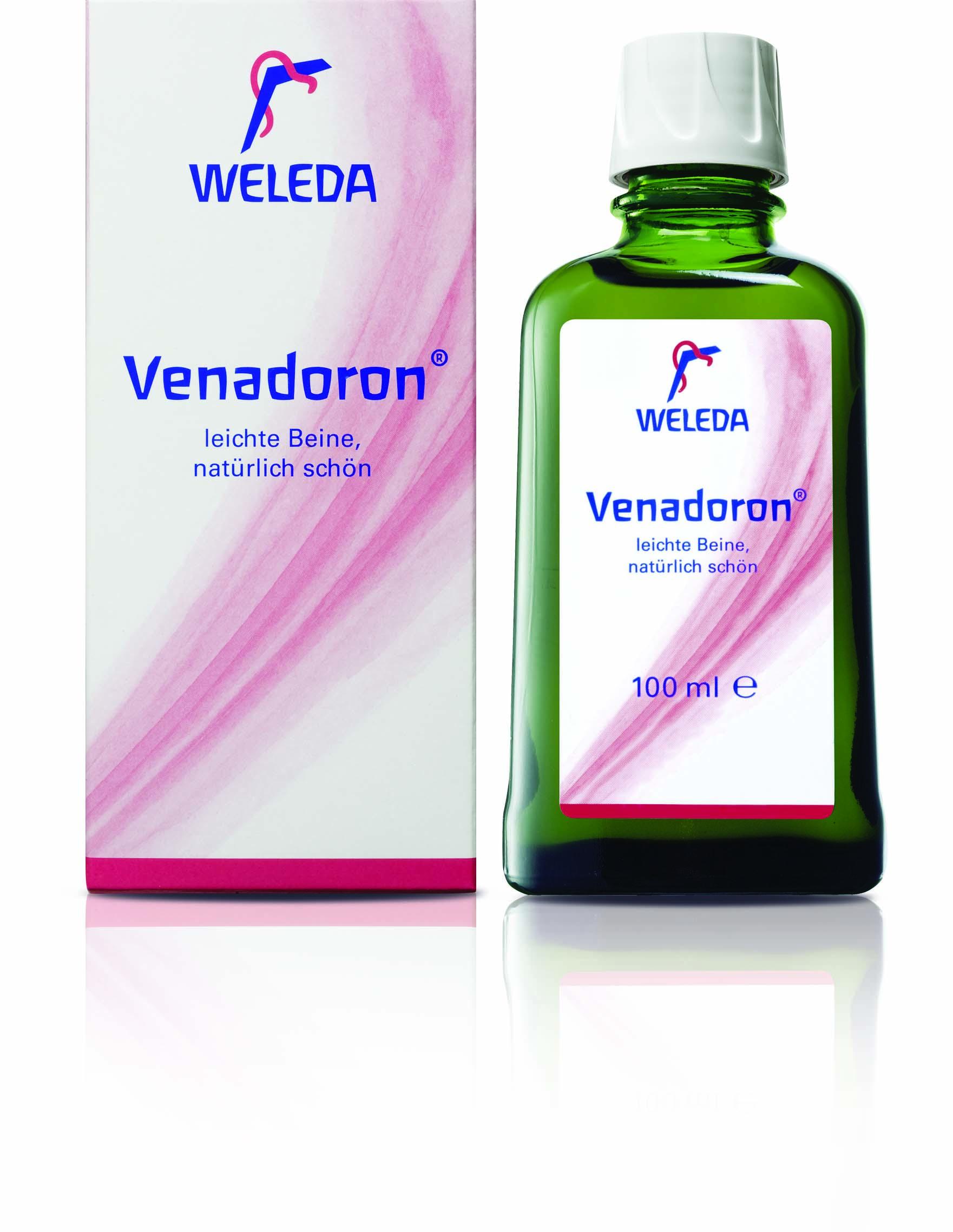 Weleda Venadoron - na otoky nohou a žíly