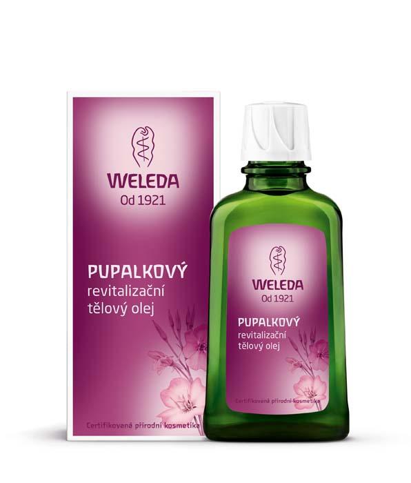 Weleda Pupalkový revitalizující tělový olej 100 ml
