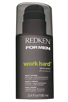 Redken for men - Work Hard – modelovací pasta
