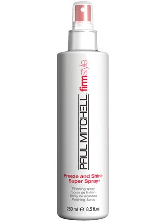Paul Mitchell Freeze and Shine Super Spray 250 ml - sprej se silnou fixací