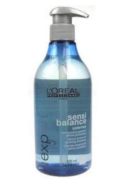 Loreal Expert Sensi Balance Shampoo - čistící šampón pro zklidnění citlivé vlasové pokožky 500ml ...