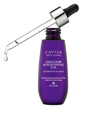 Alterna Caviar Anti Aging Omega+ Nourishing Oil 50ml - hydratuje silně narušené, nepoddajné a stárnoucí vlasy