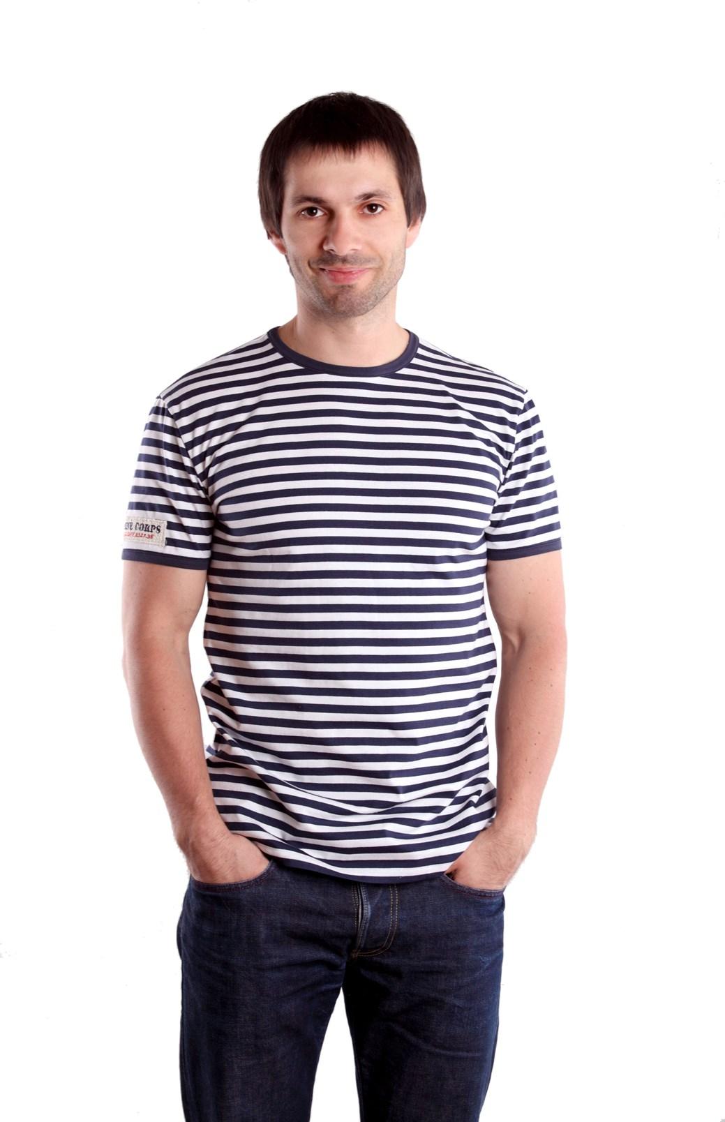 Námořnické pruhované tričko pánské