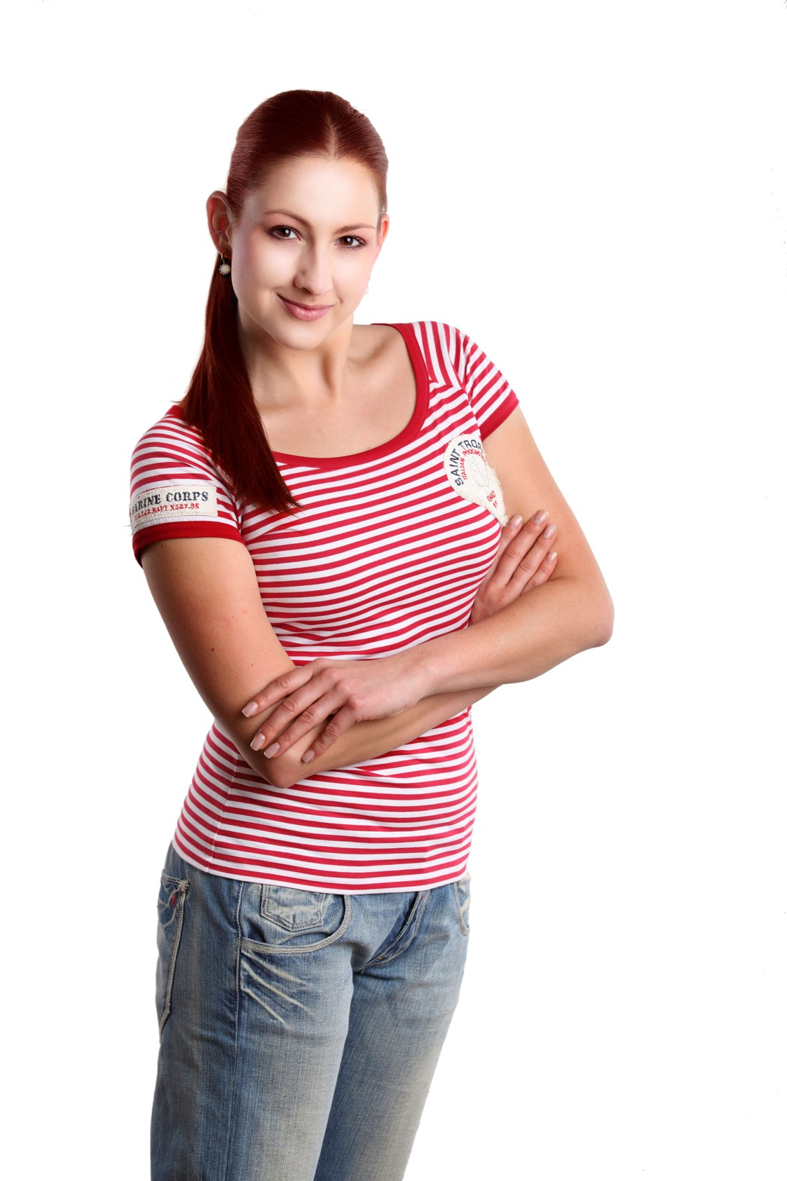Námořnické tričko RedBerry s krátkým rukávem