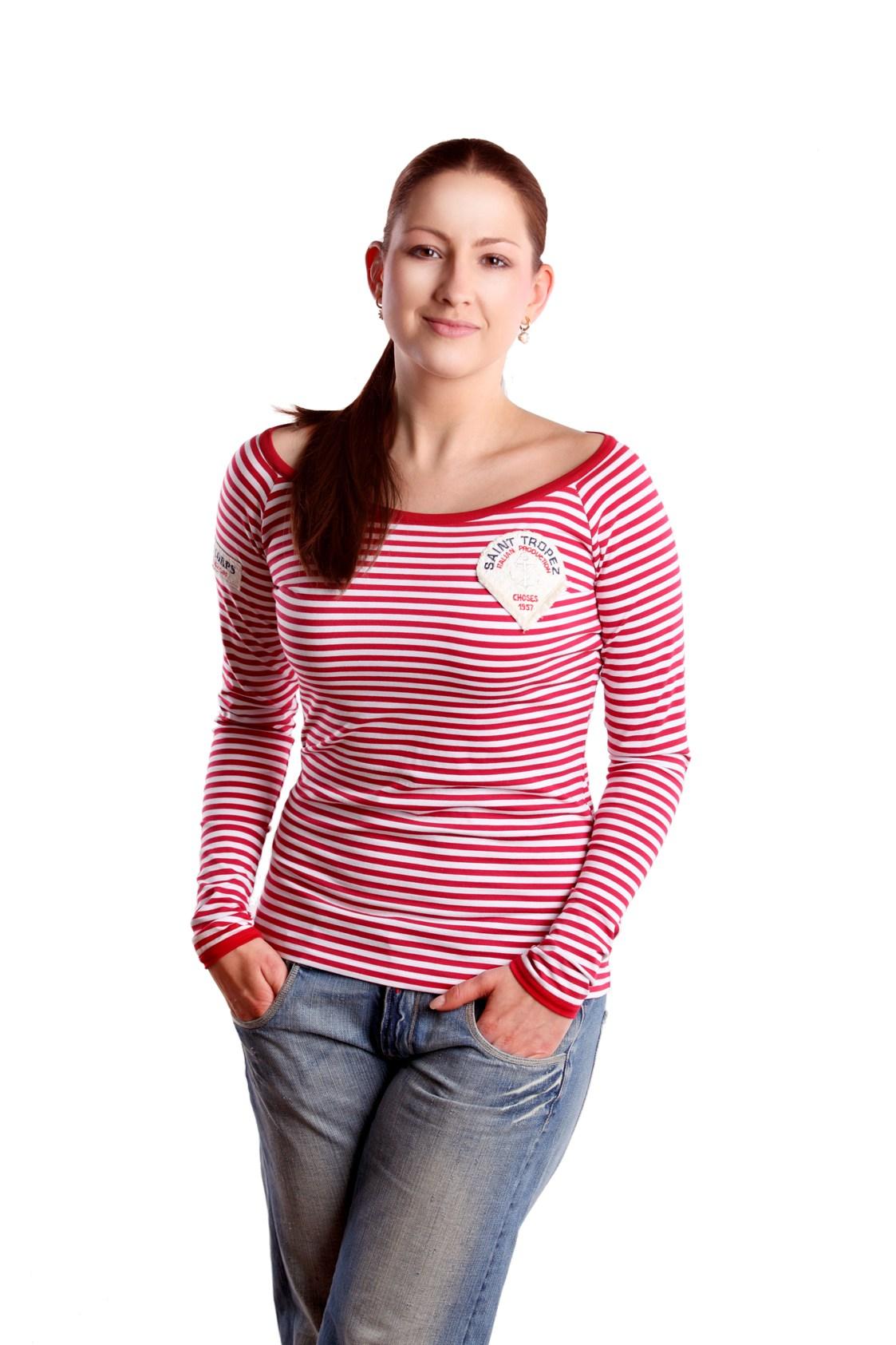 Námořnické tričko RedBerry s dlouhým rukávem